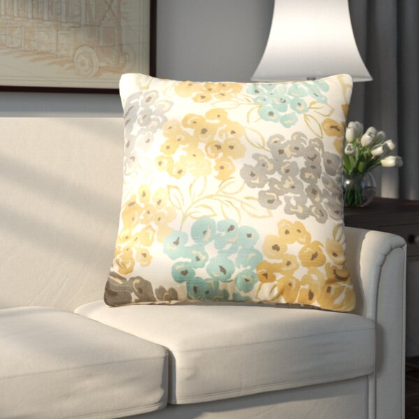 Malcolm 100% Cotton Throw Pillow by Alcott Hill| @ $28.99